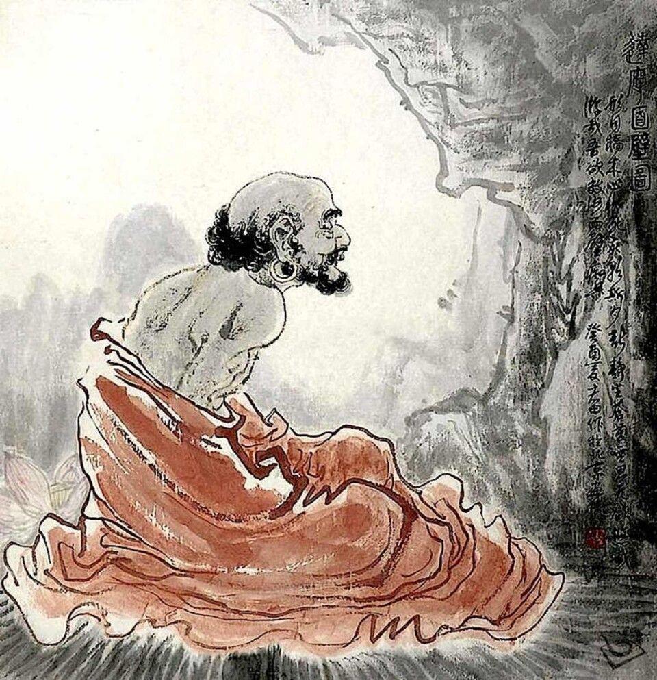 Bodhidharma, der Begründer des berühmten Shaolin Tempels in China