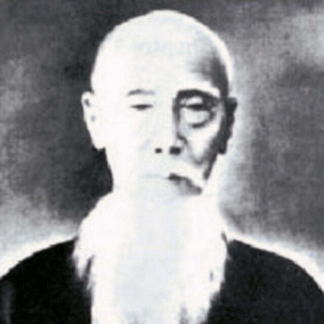 Antike Aufnahme von Grossmeister Sakugawa Kanga
